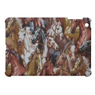Fodral för fullföljande för western temahästiPad iPad Mini Mobil Skal