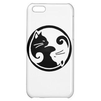 Fodral för fullföljande för Yin Yang kattiPhone 5C iPhone 5C Skal