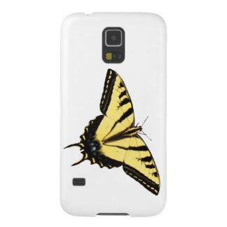 Fodral för galax S5 för tigerSwallowtail fjäril Galaxy S5 Fodral