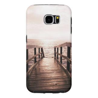 """Fodral för galaxen S6 """"gå för plankan"""" det tunga Galaxy S5 Fodral"""