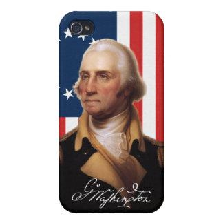 Fodral för George Washington iPhone 4/4S iPhone 4 Fodraler