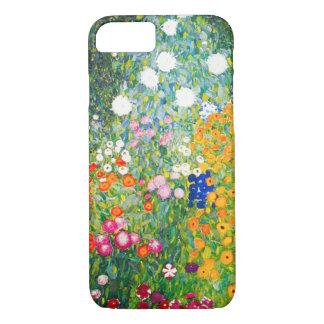 Fodral för Gustav Klimt blomsterträdgårdiPhone 7