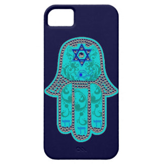 Fodral för Hamsa iphone 5 knappt Barely There iPhone 5 Fodral