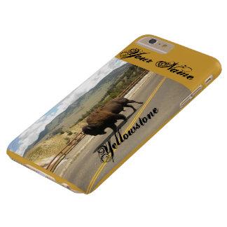 Fodral för hardshell för Yellowstone buffel Barely There iPhone 6 Plus Fodral