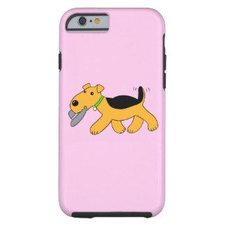 Fodral för hatt iPhone6/6s för w för hund för Tough iPhone 6 Fodral
