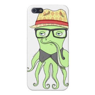 Fodral för HipsterbläckfiskSpeck iPhone 5 Fodraler
