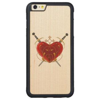 Fodral för hjärta- & dolkiPhone 6