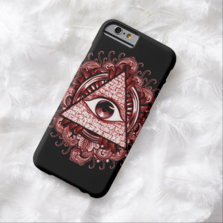 Fodral för Illuminati symboliPhone 6 Barely There iPhone 6 Fodral