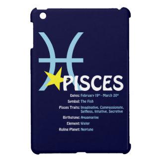 Fodral för iPad för Pisces drag mörkt iPad Mini Mobil Fodral