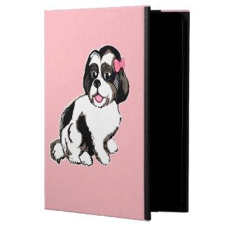 Fodral för iPad för Shih Tzu valp rosa
