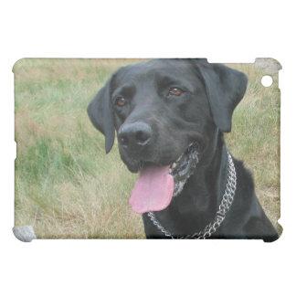 Fodral för ipad för svart för hund för Labrador iPad Mini Fodral