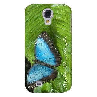 Fodral för iPhone 3G/3GS för blåttMorpho fjäril Galaxy S4 Fodral