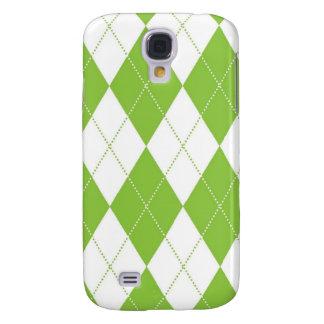 fodral för iPhone 3G - Argyle - limefrukt Galaxy S4 Fodral