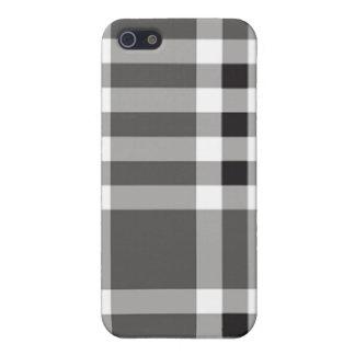 fodral för iPhone 4 - fast pläd - mussla iPhone 5 Hud