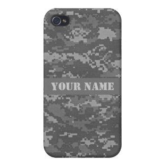 Fodral för iPhone 4 för kamouflage för personligAC iPhone 4 Skydd