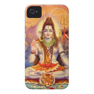 Fodral för iPhone 4 för Lord Shiva Meditera iPhone 4 Cover