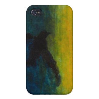 """Fodral för iPhone 4 för oljemålning """"fallande"""" iPhone 4 Hud"""