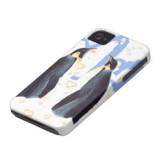 Fodral för iPhone 4 för pingvin förälskat knappt d Case-Mate iPhone 4 Skydd