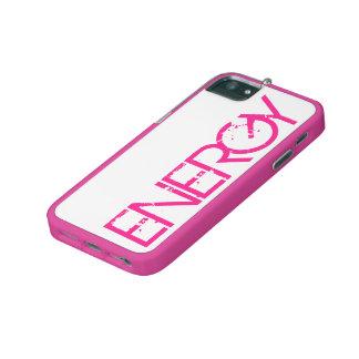 Fodral för iPhone 5/5S för energirosakneg iPhone 5/5C Skal