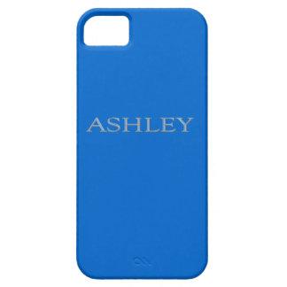 Fodral för iPhone 5 för Ashley anpassningsbarnamn iPhone 5 Fodraler