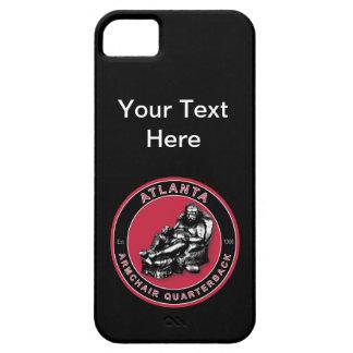 Fodral för iPhone 5 för Atlanta fåtöljQuarterback iPhone 5 Fodral