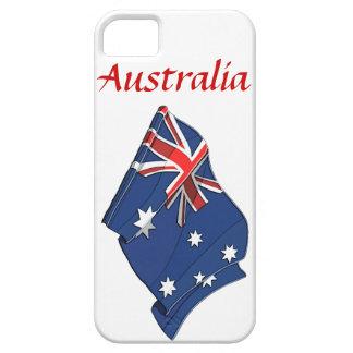 Fodral för iPhone 5 för Australien flaggadesign iPhone 5 Skydd