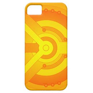 Fodral för iPhone 5 för för Techie mönsterorange & iPhone 5 Case-Mate Cases