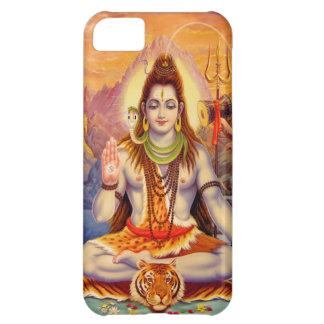 Fodral för iPhone 5 för Lord Shiva Meditera iPhone 5C Fodral