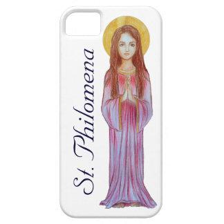 Fodral för iPhone 5 för St. Philomena iPhone 5 Fodral