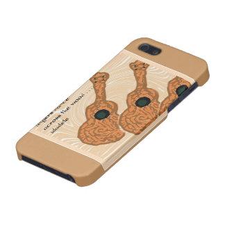 Fodral för iPhone 5 för UkuleleHaikukonst iPhone 5 Cover