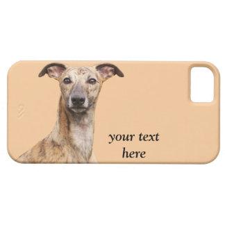 Fodral för iphone 5 för Whippet hundfoto mattt iPhone 5 Case-Mate Fodraler