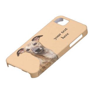 Fodral för iphone 5 för Whippet hundfoto mattt iPhone 5 Fodraler