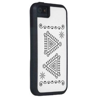 fodral för iPhone 5 med indiska Pattren Tough Xtreme iPhone 5 Fodral