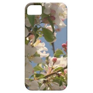 fodral för iPhone 5 - vitblommigt iPhone 5 Case-Mate Fodral