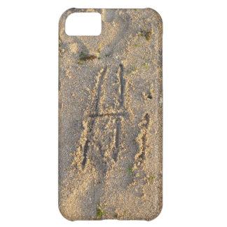 fodral för iPhone 5C - sandiga strandhälsningar iPhone 5C Fodral