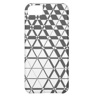 Fodral för iPhone 5S för Triagonal elfenben (röka) iPhone 5C Fodral