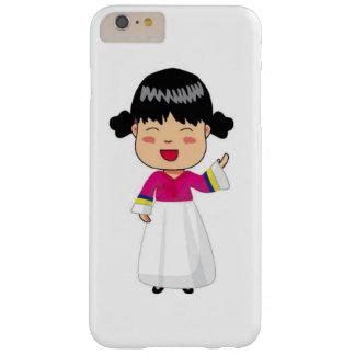 fodral för iPhone 6/6S av koreanska Chibi i Hanbok Barely There iPhone 6 Plus Skal