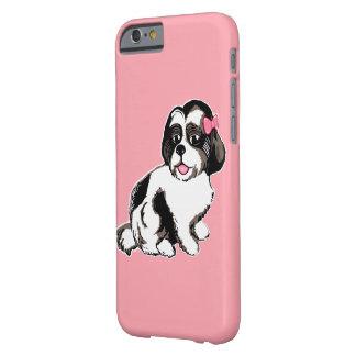 Fodral för iPhone 6/6s för Shih Tzu valp rosa Barely There iPhone 6 Fodral
