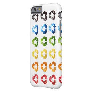 Fodral för iPhone 6 för återvinnafruktdesign Barely There iPhone 6 Fodral