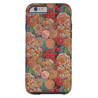 Fodral för iPhone 6 för blomma galet Tough iPhone 6 Skal