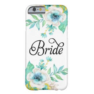 Fodral för iPhone 6 för brudvintage blom- Barely There iPhone 6 Skal