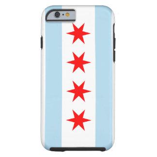 Fodral för iPhone 6 för Chicago flagga tufft Tough iPhone 6 Fodral
