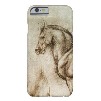Fodral för iPhone 6 för Da Vinci häststudie Barely There iPhone 6 Skal
