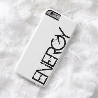 Fodral för iPhone 6 för energi svart slankt Barely There iPhone 6 Skal