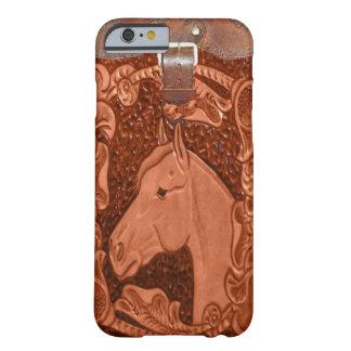 "Fodral för iPhone 6 ""för häst"" westernt Barely There iPhone 6 Skal"