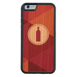 Fodral för iPhone 6 för mönster   för rött vin