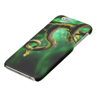 Fodral för iPhone 6 för pytonormorm glansigt