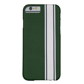 Fodral för iPhone 6 för rand för grönt- & Barely There iPhone 6 Fodral