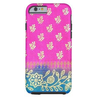 Fodral för iPhone 6 för Sari för rosablått guld- Tough iPhone 6 Skal