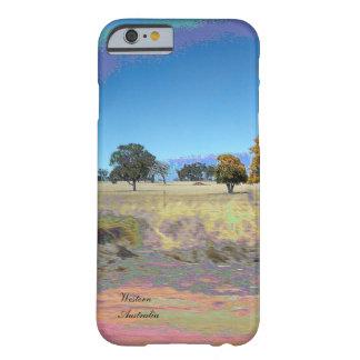 Fodral för iPhone 6 för WA Australien slankt Barely There iPhone 6 Skal